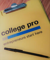 WORK FROM HOME - MAKE UR OWN HRS - COLLEGE PRO TELEMARKETER