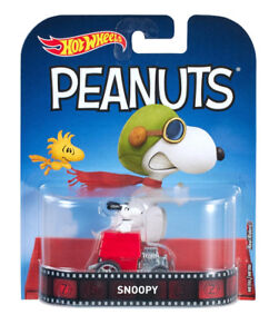 Hot Wheels Snoopy Retro 1:64 Metal Car