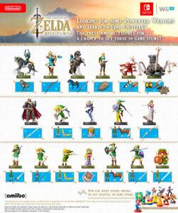 NFC Amiibo Tags Legend of Zelda BoTW  Complete Set
