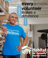 Habitat ReStore Volunteer