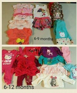 Girls lots-6-9m and 6-12m