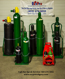 Compressed Gas Cylinders. Welding and Cutting Bottles. Oxygen