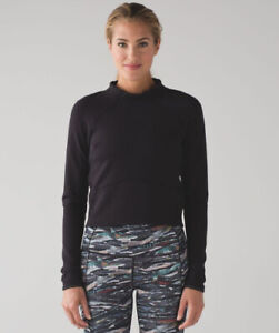 Lululemon Hill and Valley Mock Neck sweater