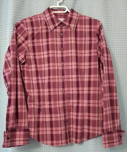 Long-sleeved button up shirt