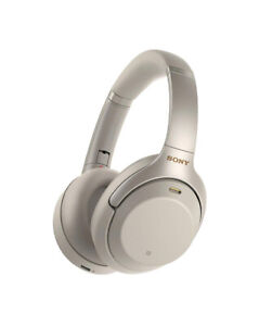 Sony WH1000XM3/S Wireless Headphones, Silver