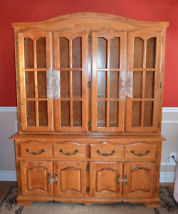 Lovely Buffet + Hutch (Dining Set)