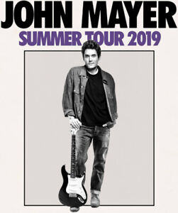 John Mayer @ Scotiabank Arena Floor Seats Row 45 (July 30)