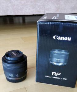 Canon RF 1.8 35mm mint