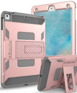 iPad Case (Pink and grey) - Compatible for many iPads BRAND NEW!