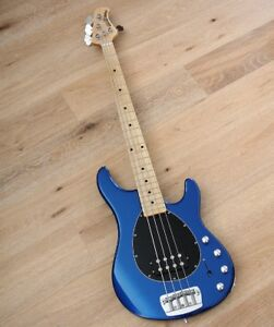 Ernie Ball Music Man Sterling H 4-String Bass Metallic Blue MINT
