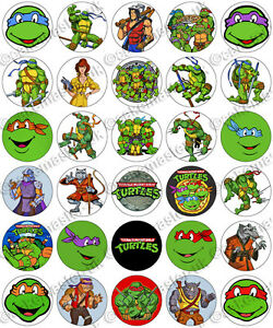 Teenage Mutant Ninja Turtles Edible Cake Toppers
