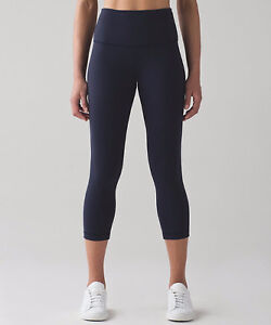 Lululemon High Rise leggings (crops)