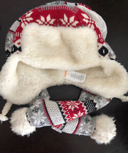 Gymboree hat and scarf - M size (girl)