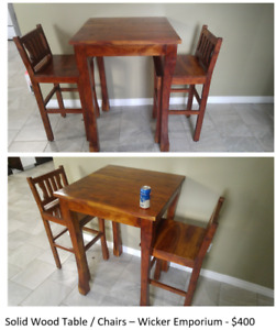 Furniture Sale - Kitchen Table, Office Table/Chair, TV Stand +++