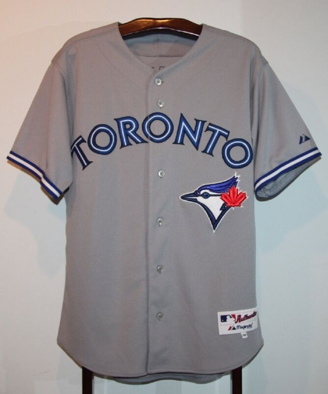 sneakers for cheap 861cd 2bff4 MAJESTIC 2012 RICKY ROMERO TORONTO BLUE JAYS BASEBALL JERSEY