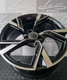 18 INCH NEW AUDI RS6 STYLE ALLOY WHEELS 5×112