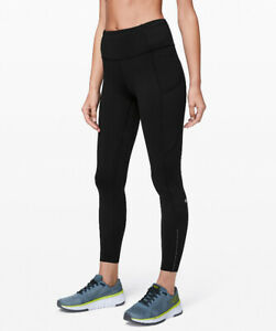 "Lululemon Women's Leggings (Fast and Free Tight II 25"" - Nulux)"