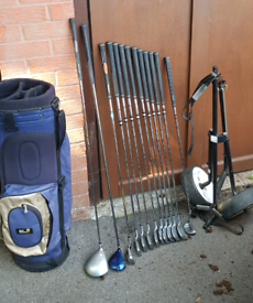 Full Set of Mens Golf Clubs - Knight Virage