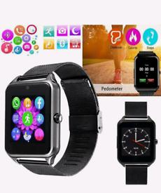 Z60 Smart Watch Support Sim Card Slot Push Message Bluetooth Connectiv