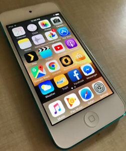 Blue 32GB iPod Touch 5th Gen