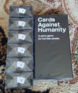 Cards Against Humanity V2.0 - Full Set Available - New & Sealed!
