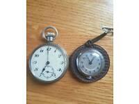 2 Vintage Pocket Watches