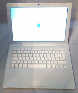 Apple Macbook with 500gb hard drive and 4gb ram