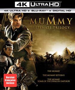 The Mummy Ultimate Trilogy 4K + Blu-ray