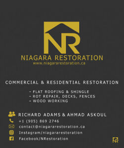 BOOK NOW! NIAGARA RESTORATION FOR YOUR GENERAL CONTRACTING NEEDS