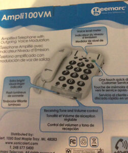 AMPLIFIED TELEPHONE FOR SALE