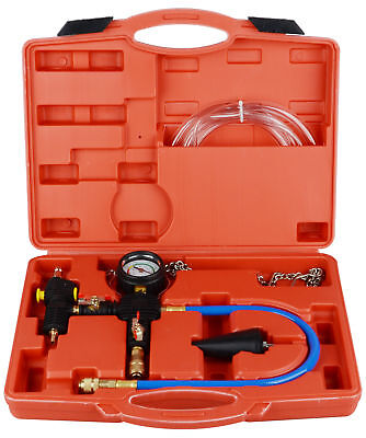 Vacuum Coolant - Professional Radiator Cooling System Vacuum Purge Coolant Refill Tool Kit Set