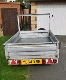 Conway steel dropside trailer 6ft 6 x 4ft