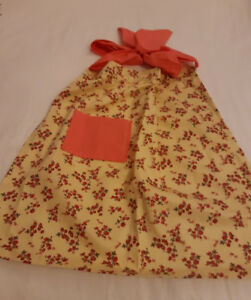Homemade vintage looking apron.