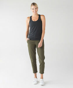 Lululemon Trek Trouser  FATG  Green - Size 4- New with Tags