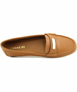 Stylish Coach Leather Loafer- Sz 8 fits 9 too