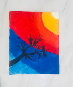 Colourful Canvas Painting