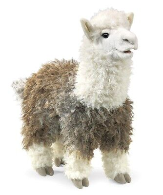 ALPACA  PUPPET # 2953 ~ FREE SHIPPING IN USA ~ Folkmanis Puppets