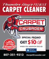 Thunder Bays Primer carpet upholstery cleaner