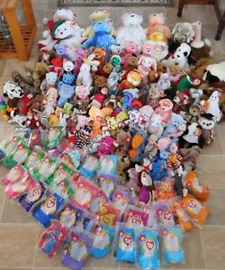 Huge collection TY Beanie Babies! Over 140 Original EX COND