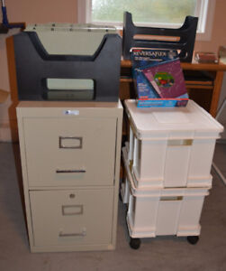 Several Storage & Filing Options and Accessories