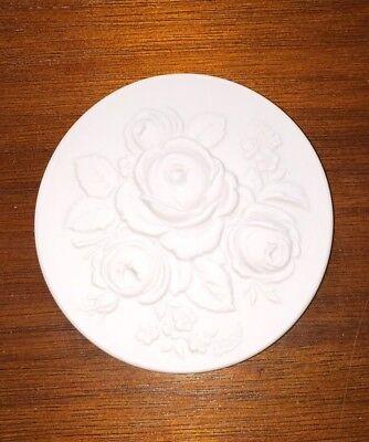 NEU Meissner Porzellan Medaille Blumenmalerei  Blumenbukett Sammlung Sammler