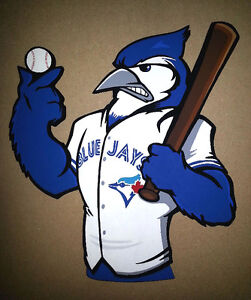 "Toronto Blue Jays Custom Handmade Wooden Wall Decoration 10"""