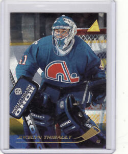 Lot de 65 cartes de hockey