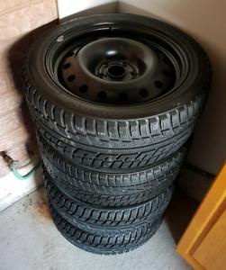 225/45/17 Toyota/Lexus Kumho Winter Tires