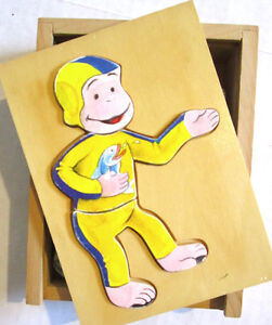 CURIOUS GEORGE - Books, Puzzle Box and Hat Activity Ages 3 & up Windsor Region Ontario image 6