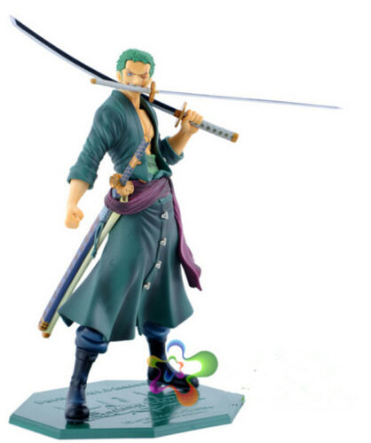 Anime One Piece Roronoa Zoro PVC Action Figure Collection Figurine Toy Gift Hot