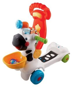 VTech-3-in-1 Learning Zebra Scooter. Walker. Bicycle