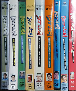 Selling Scrubs Seasons 1-9 on DVD