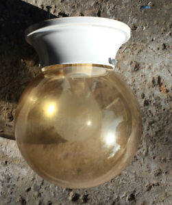 Spherical ceiling light