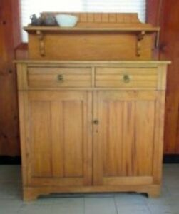 WANTED ANTIQUE JAM CUPBOARD